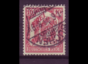 Dt. Reich Dienst D 12 Einzelmarke 10 Pf gestempelt Buchen /5