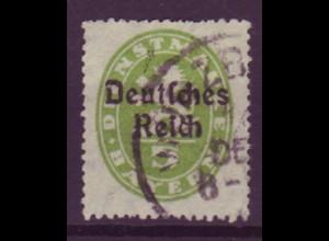 Dt. Reich Dienst D 34 Einzelmarke 5 Pf gestempelt /1