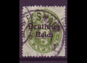 Dt. Reich Dienst D 34 Einzelmarke 5 Pf gestempelt /4