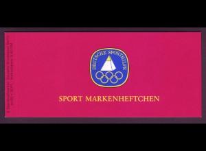 Berlin Sport Markenheftchen 6x 596 60 Pf. 1979 postfrisch