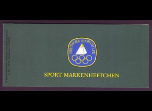 Berlin Sport Markenheftchen 6x 698 80 Pf. 1983 postfrisch