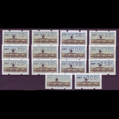 Berlin ATM 1 Versandstellensatz VS1 14 Werte postfrisch